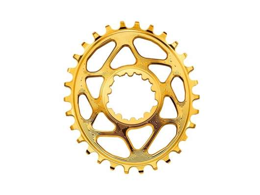 Absoluteblack Kedjedrev Direct Mount Oval 1X10/11/12 Fits Sram Mtb Boost Guld 32T