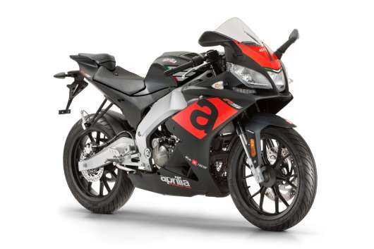 Aprilia Rs 50 E4 Mattsvart 2020 Moped