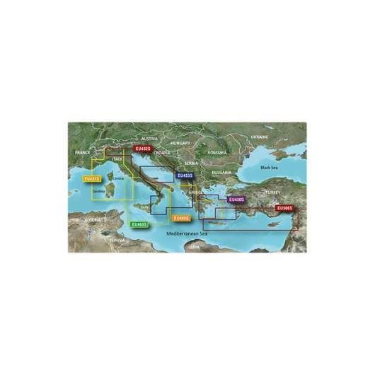 Athens and Cyclades Garmin microSD™/SD™ card: VEU450S