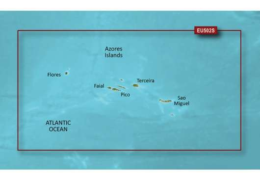 Azores Islands Garmin microSD™/SD™ card: VEU502S