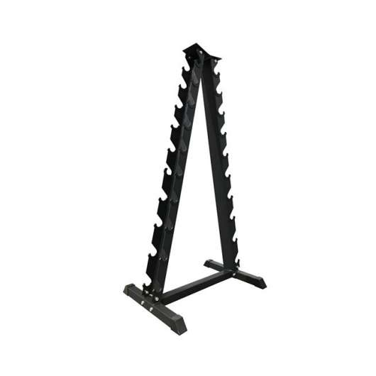 Bauer Fitness Steel Chrome Dumbbell Rack