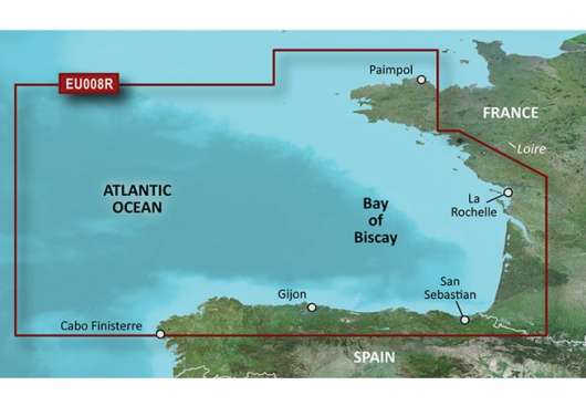 Bay of Biscay Garmin microSD™/SD™ card: HXEU008R