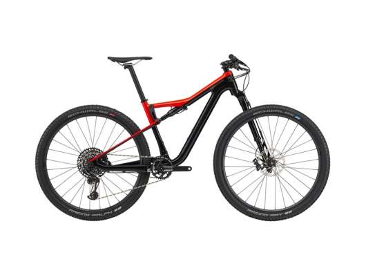 Cannondale Scalpel SI Carbon 3 Ram: M. Acid red/black