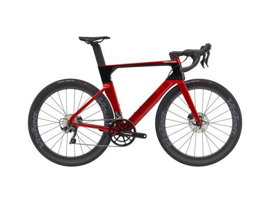 Cannondale SystemSix Carbon Ultegra 56 cm. Candy Red/Black