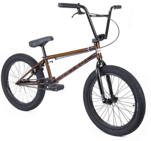 Cult Control 20 2020 Freestyle BMX Cykel 20.75 Trans Brown