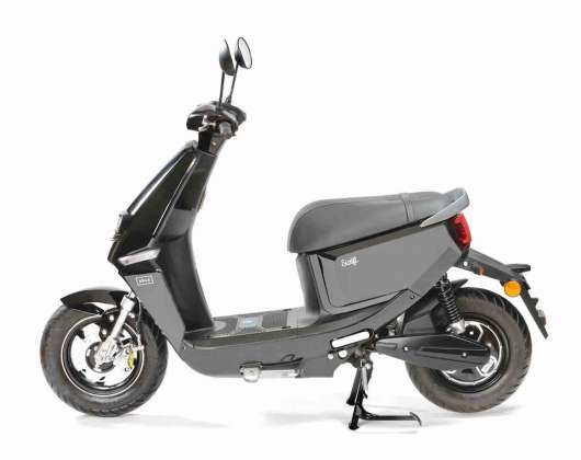 Drax Swift 45km/h Svart Elmoped