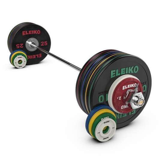 Eleiko Performance Set NxG - 185 kg, women, black