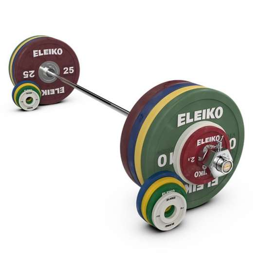 Eleiko Performance Set NxG - 185 kg, women, coloured