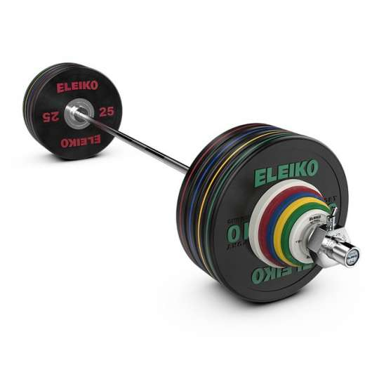 Eleiko Performance Set NxG - 190 kg, men, black