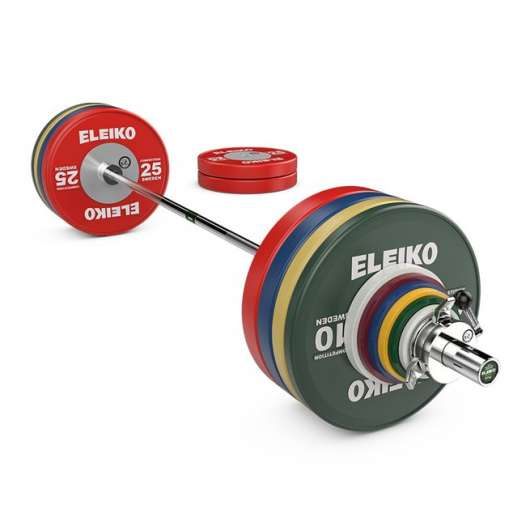 Eleiko WPPO Powerlifting Competition Set - 240,5 kg