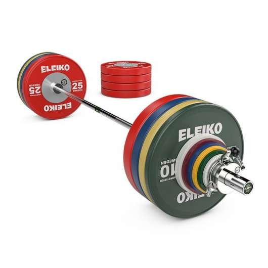 Eleiko WPPO Powerlifting Competition Set - 290,5 kg