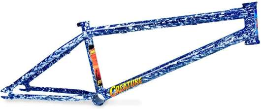 "Fiction Creature Freestyle BMX Ram 21"" Angry Sea Blue"