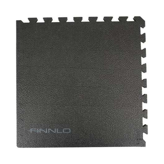 Finnlo Floor Mat 6 pieces black, professional