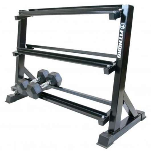 FitNord Dumbbell rack, 3-level