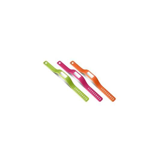 Garmin Orange/Pink/Green Bands