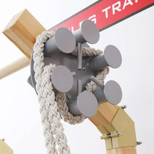 Gladiator wall Rope pulley