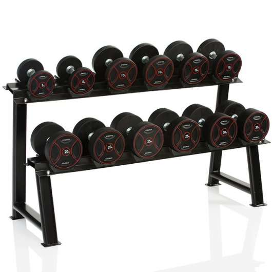 Gymstick Rack For 6 Pr Pro Rubber Dumbbells
