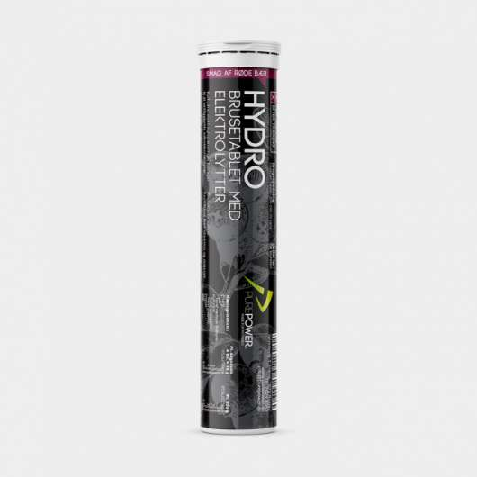Sportdryck PurePower Hydro Red Berries, 20 tabletter