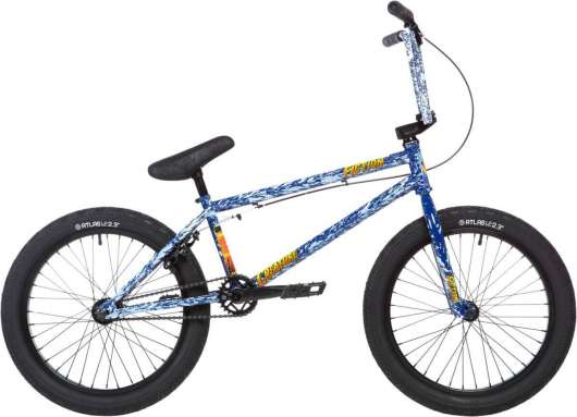 Stolen X Fiction Creature 20 2020 Freestyle BMX Cykel 21 Angry Seas Blue