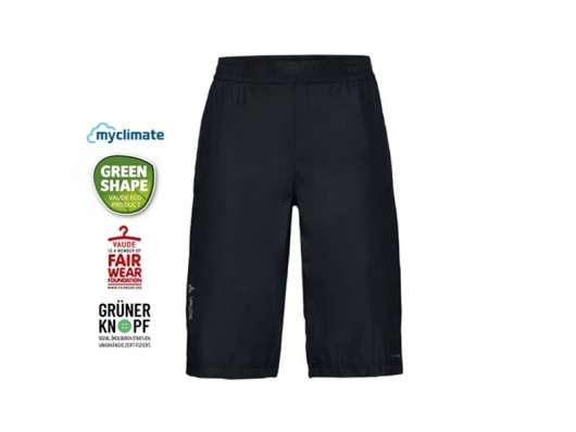 Vaude Drop Shorts Dam 42/L SVART